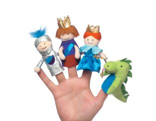 A Day at the Castle - Finger Puppet Set