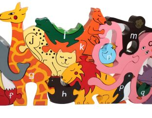 Alphabet Zoo - Jigsaw & Playset!