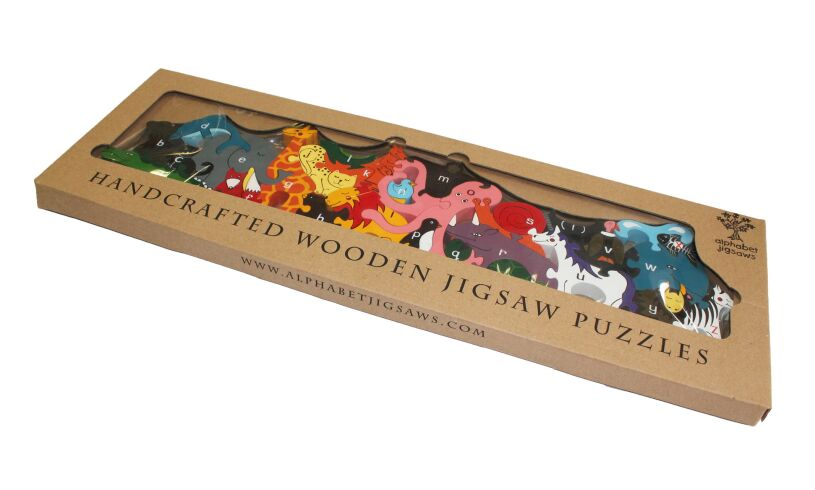 Alphabet Zoo Jigsaw Packaging