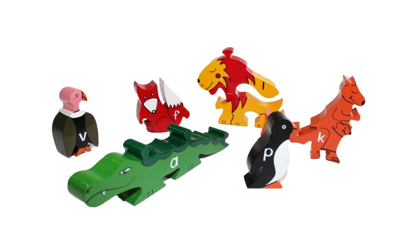 Alphabet Zoo - Jigsaw Pieces