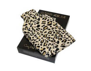 Cosy Animal Print Hot Water Bottle