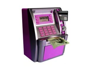 Pink ATM Savings Bank