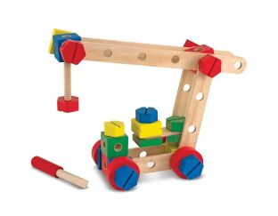 Wooden Construction Set - 48 Pieces