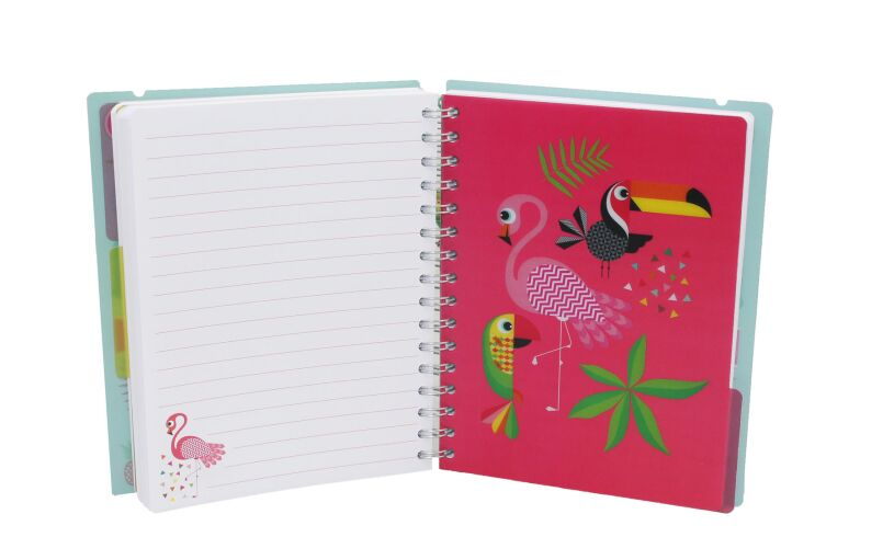 Tropicalia A5 Notebook Flamingo