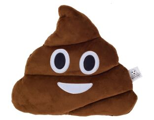 Poop Emoji Cushion