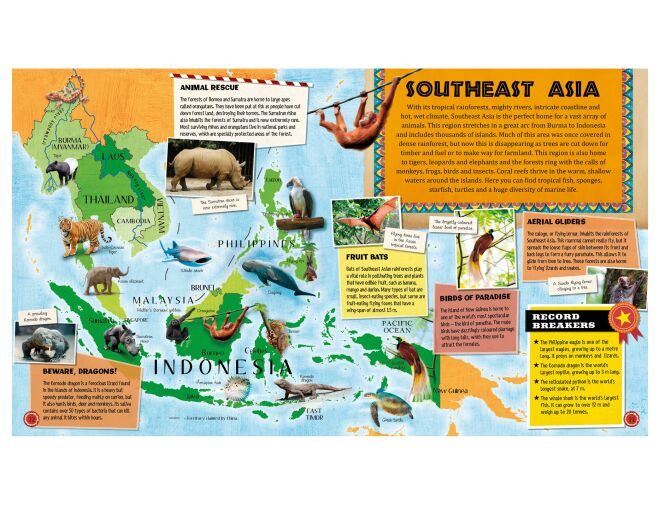 Animal Atlas - Southeast Asia