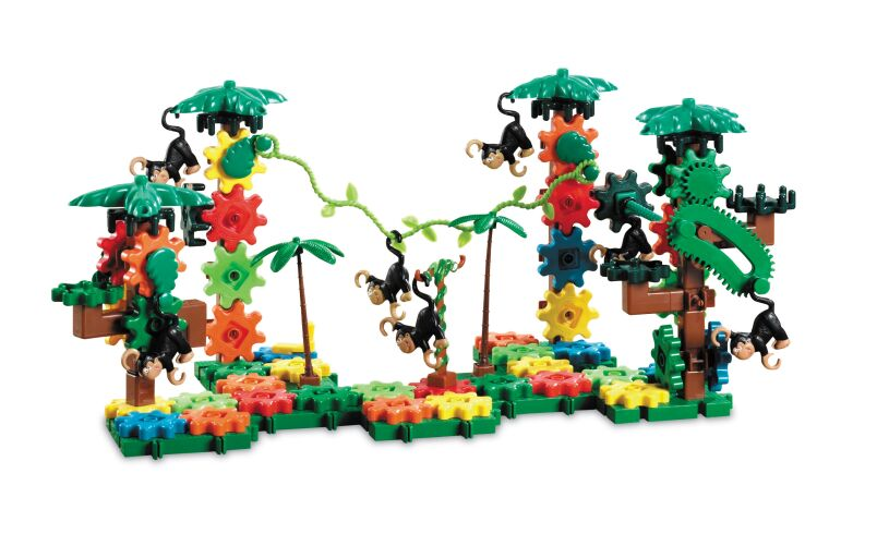 Movin' Monkeys Building Set - 136 pieces