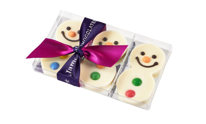 Winter Snowmen Chocolates