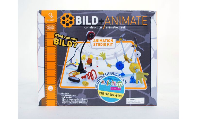Animation Studio Kit Packaging