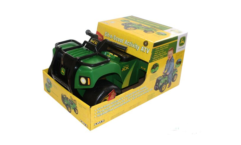 Sit 'n' Scoot ATV Packaging