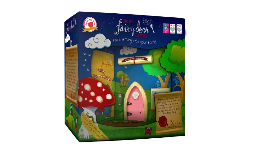 Magical Wooden Fairy Door Packaging
