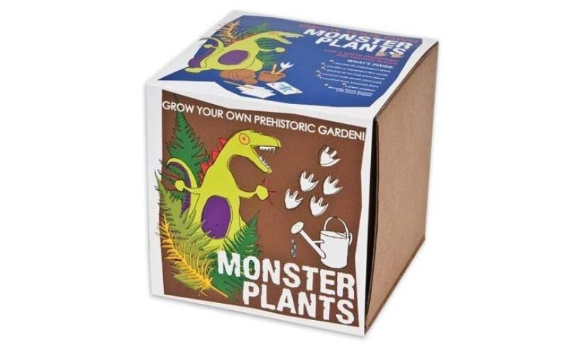 Grow your own Monster Plants Packaging