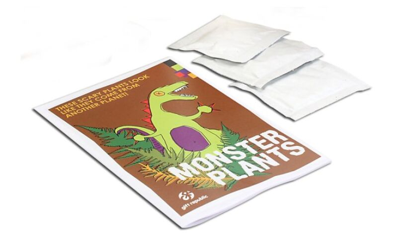 Grow your own Monster Plants Instructions