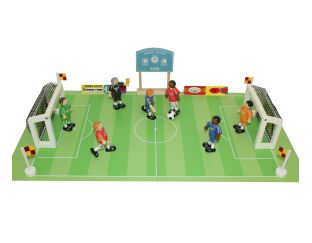 Wooden Football Match Set