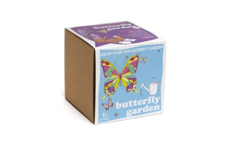 Grow your own Butterfly Garden Packaging