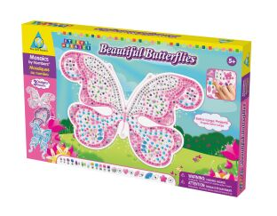 Beautiful Butterflies Sticky Mosaics Box