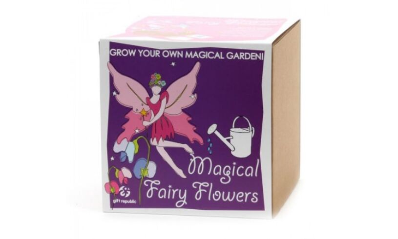 Grow your own Magical Fairy Flowers Packaging