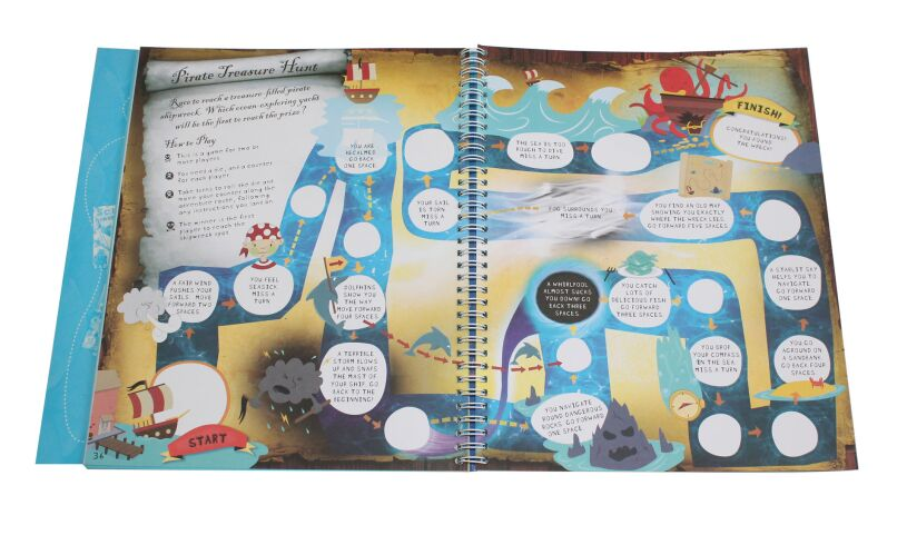The Under Water Creativity Book Game