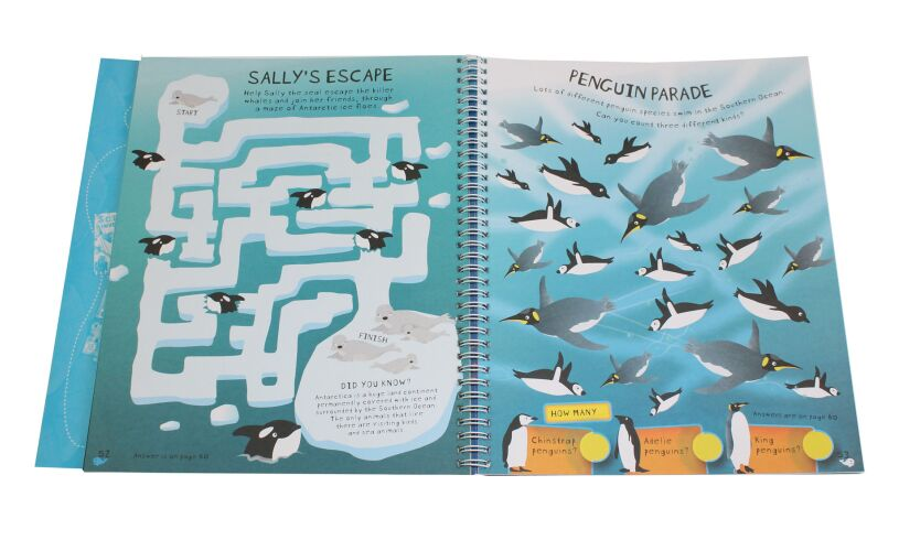 The Under Water Creativity Book Penguins