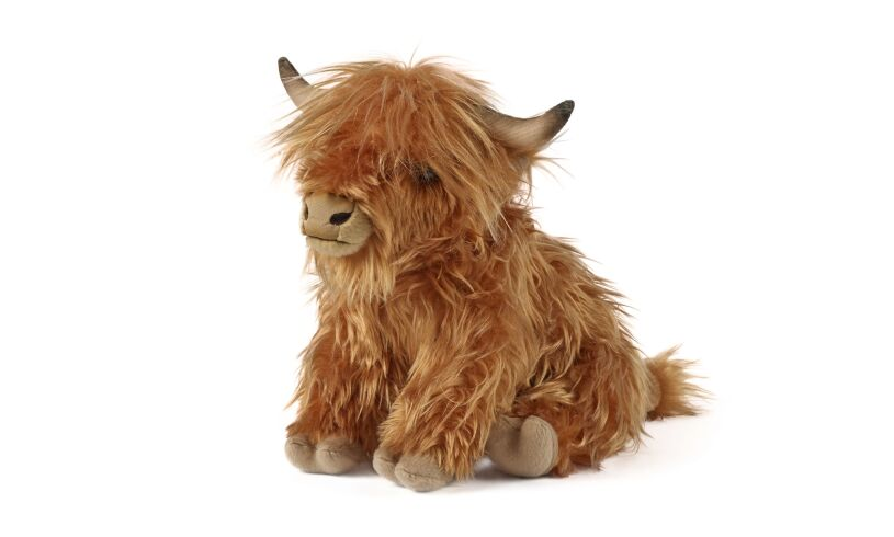 Living Nature Highland Cow with Sound