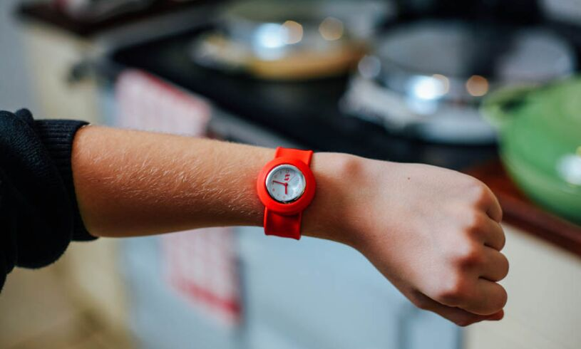 Red Slappie Watch lifestyle