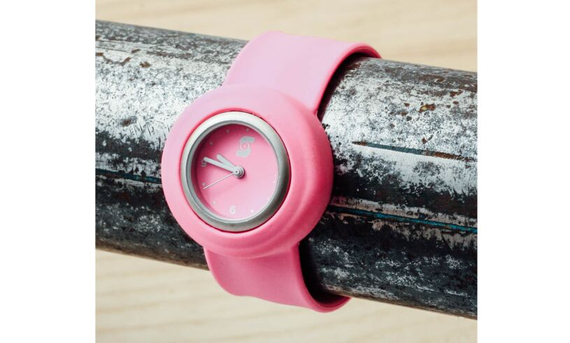 Neon Pink Slappie Watch