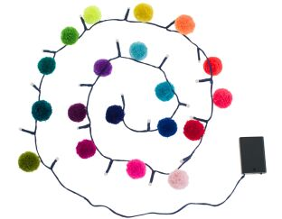 Pom Pom Galore - 20 Light Chain