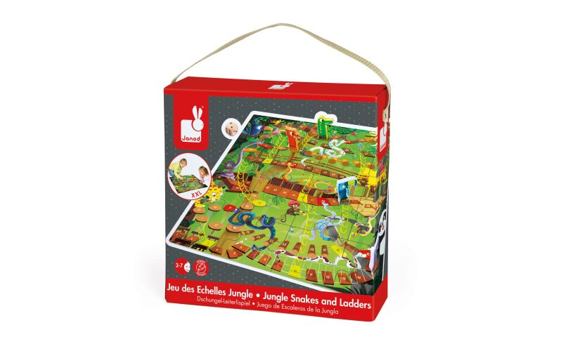 Jungle Snakes and Ladders Box