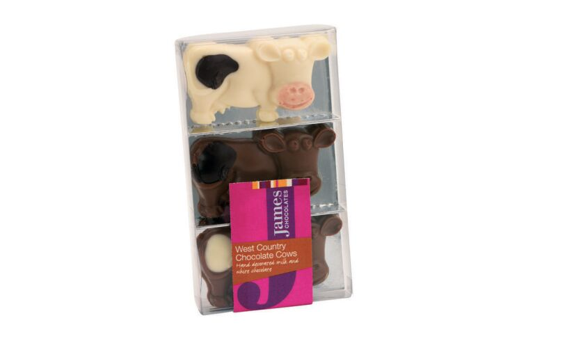 West Country Chocolate Cow Packing
