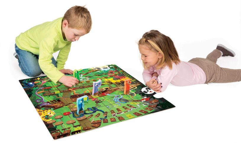 Juratoys Jungle Snakes and Ladders
