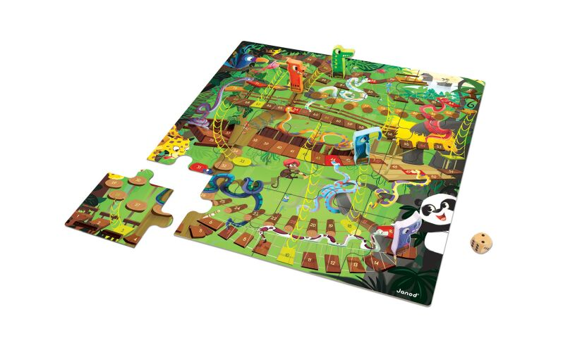 Janod Jungle Snakes and Ladders