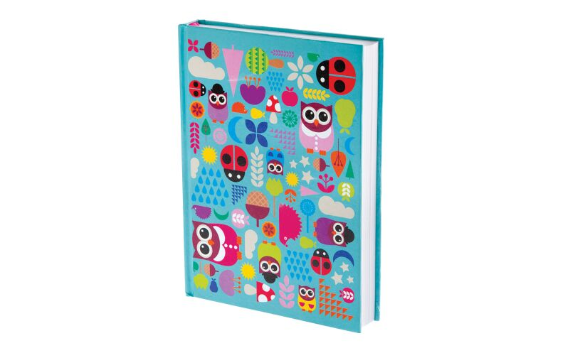 Woodland Owl Hardback Journal