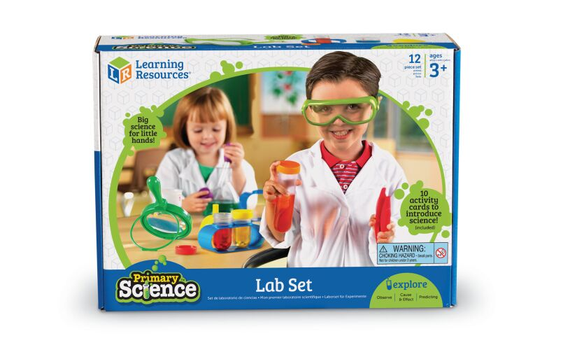 Primary Science Lab Set Packaging