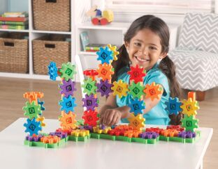 Learning Resources Deluxe Building Set - 96 Pieces