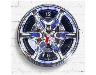 Neon Rim Wall Clock Lifestyle