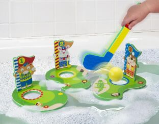 Alex Brands Lil' Putters in the Tub