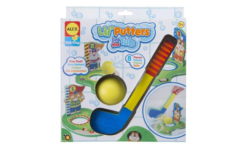Lil' Putters in the Tub Box