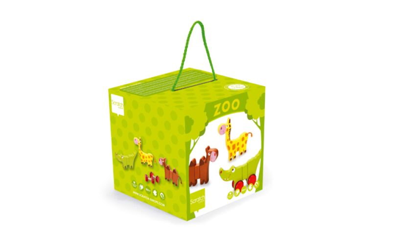 Zoo Rolling Animals Box