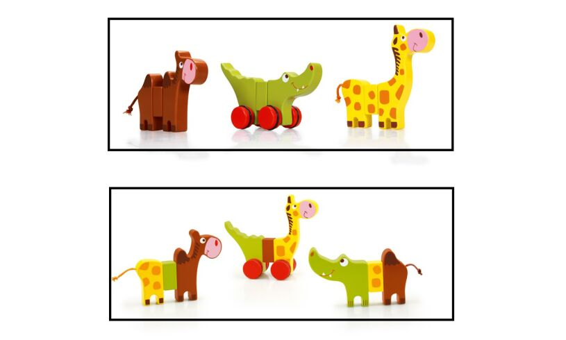 Zoo Rolling Animals