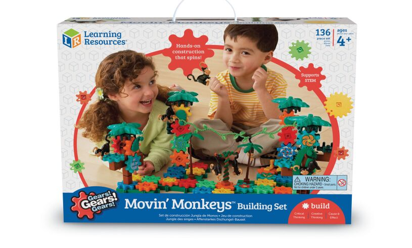 Movin' Monkeys Building Set Packaging