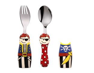 Eat 4 Fun Pirate Duo Cutlery Set