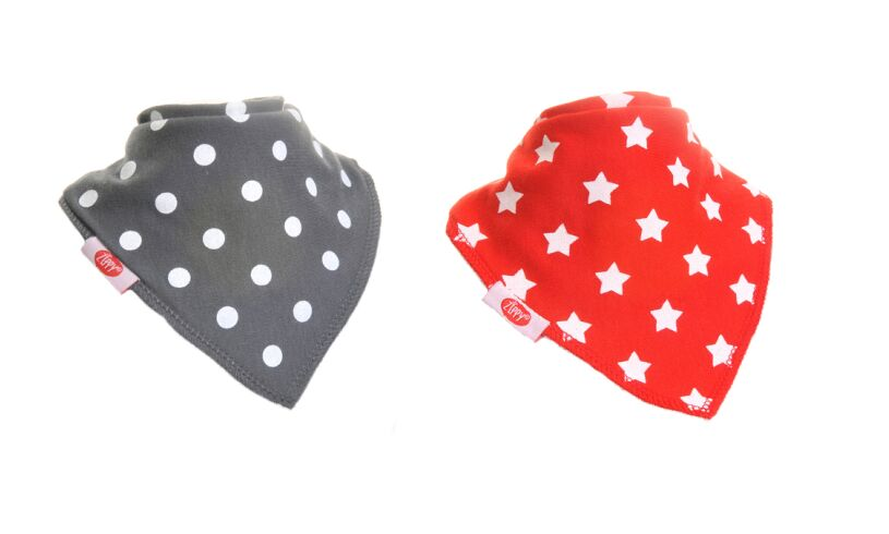 Fun Bandana Bibs Spots and Stars
