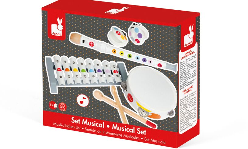 Musical Instrument Set Packaging