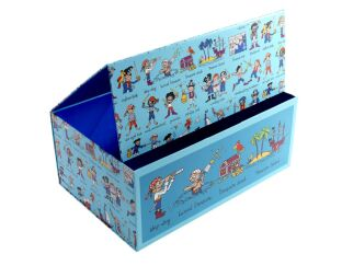 Tyrrell Katz Pirate Print Storage Box