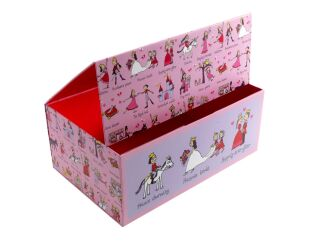 Tyrrell Katz Princess Print Storage Box