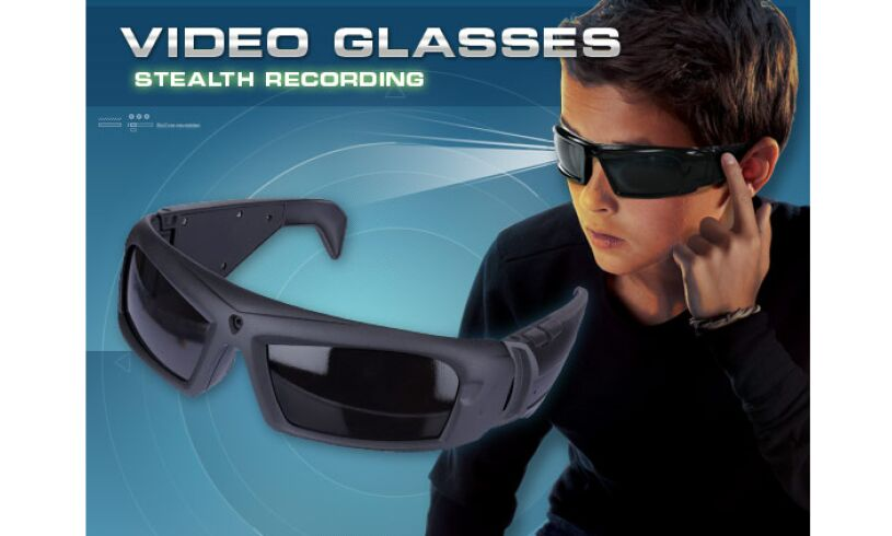 Cool Toys For Boys Age 11 : Spy stealth video glasses hidden camera boys aged
