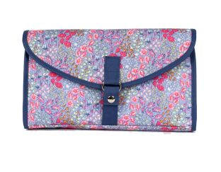 Milly Green Folding Wash Bag - Ditsy Floral