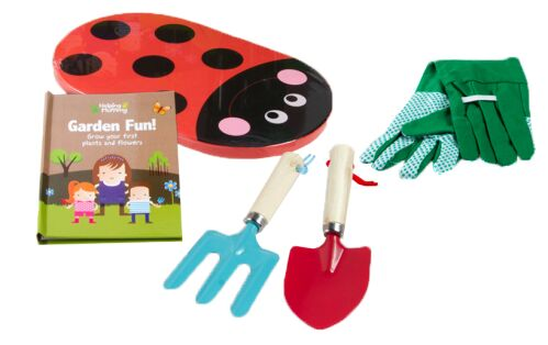 Garden tools book set little hands girls aged 4 for Gardening tools for 3 year old