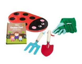 Helping Mummy Garden Tools and Book Set