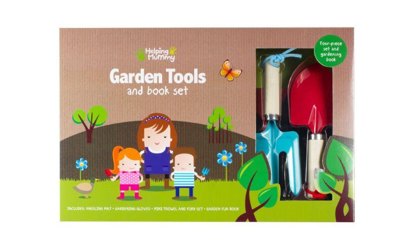 Fourth Wall Garden Tools and Book Set